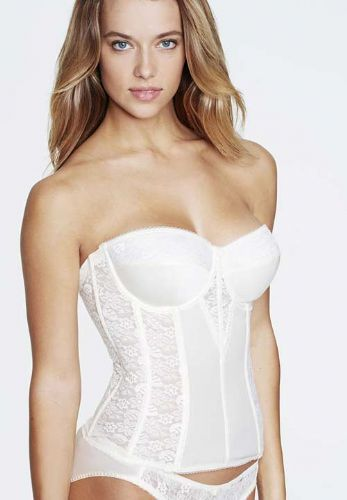 Benmark Basque in Satin and Lace (Torsolette style)